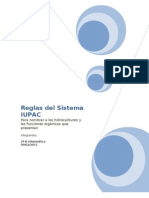 Reglas del Sistema IUPAC