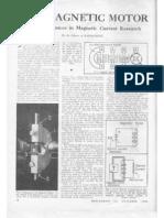 Radio Craft Magazine November 1944 - The Magnetic Motor (Felix Ehrenhaft) - pages 78-79 (HQ)