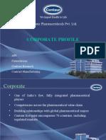 Centaur Corporate Profile 2009