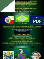 1 - APOSTILA DE SST-CFO II - AS DOENÇAS ADVINDAS DAS ATIVIDADES LABORAIS