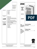 Danby Aac5246de User Manual