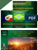 0 - APOSTILA DE SST - CFO I - PRINCIPAIS ASPECTOS DAS CONDIÇÕES DE TRABALHO