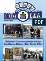 Bilten Opcine Kakanj - broj 9