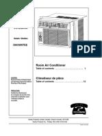 Danby Dac6007ee User Manual