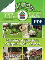 Bilten Opcine Kakanj - Broj 15
