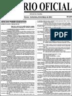 Diario Oficial 26-03-2021 1ª Parte
