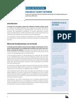 Fraude et Audit interne -2