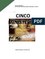 CINCO MINISTERIO