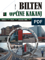 Bilten Opcine Kakanj - Broj 6