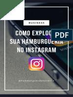 Como explodir sua hamburgueria no Instagram