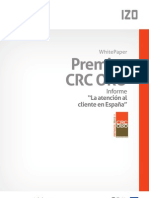 """Informe """"La atención al cliente en España 2010"""""""