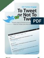 Estudio sobre la Presencia de las Marcas en Brasil en Twitter para Atención al Cliente 2011