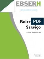 Boletim de Serviço nº 03_2015 - 26 de janeiro de 2015