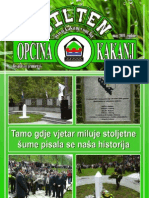 Bilten Opcine Kakanj - Broj 10
