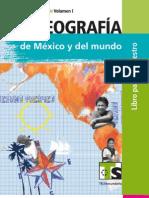 Libro para el Maestro de Telesecundariaa Geografía de México y el Mundo Vol. I