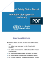 Session 1 International progress in road safety