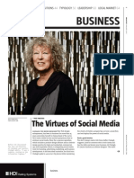 The Virtues of Social Media-January 2011