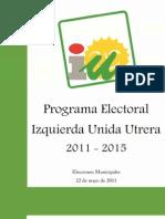 Programa Electoral IU 2011