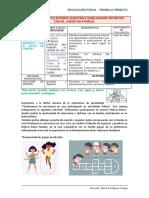 4to GRADO-ACTIVIDAD N°12 EDUCACIÓN FÍSICA