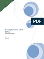 rotary drum vaccum filter final (final)