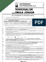 PROVA 5 - TÉCNICO DE QUÍMICA  JÚNIOR