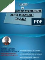 Cours de Techniques de Recherche Active d'Emploi_trade by Lucien Tolla