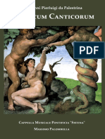 Canticum Canticorum - Palestrina (Sistine Chapel Edition)