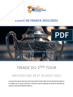 FOOTBALL Coupe de France 2021-22, 2eme Tour