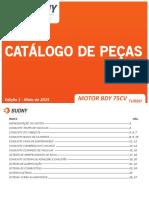 Catálogo de peças 75CV - Turbo - Dez. 2015
