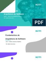 Material Das Videoaulas - Módulo 1 - Bootcamp Arquiteto de Software