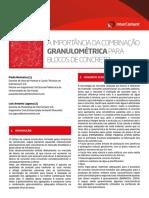 Técnica Consultoria a Importância Da Combinação Granulométrica Para Blocos de Concreto 2. Concreto Seco x Concreto Plástico. Paula Ikematsu (1)