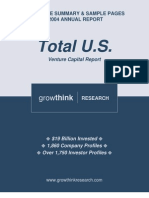 2004Annual Total Venture Capital Report