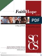 Faith Hope - A Step of Faith and Eternal Investment