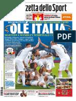 La Gazzetta dello Sport Nazionale 03 Luglio 2021