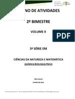 Ciencias Da Natureza 3ª Série