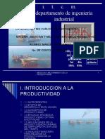 MEDICIONY MEJORAMIENTO DE LA PRODUCTIVIDAD