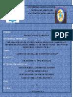 Proyectos de Inversion Huapalas GR02