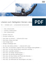 Herz Jesu Litanei PDF