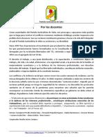 2021-08-24 PJ Salta Sobre Conflicto Docente
