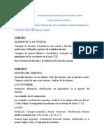 CATEDRA VIRTUAL DERECHO  - PROGRAMA DE LA MATERIA