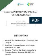Kebijakan Dan Program Gizi