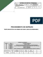 PI-MV-017-TESTE HIDOSTÁTICO DO DRENO DE FUNDO ( BACIA DE DRENAGEM )