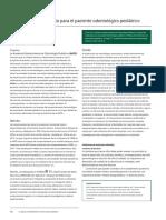 Guía de comportamiento para el paciente pediàtrico (2020)