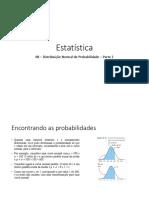08 - Distribuição Normal de Probabilidade - Parte 2