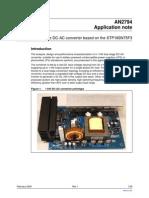 1KW DCC-AC Inverter