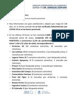 Informe COVID - Formosa 28-08-2021