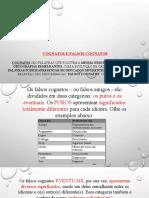 Cognatos e Falsos Cognatos-slide