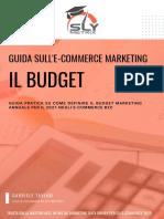 Guida Completa Budget 2021