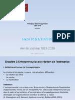 Principes Management - Leçon 10