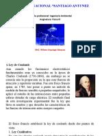 FISICA III-LEY DE COULOMB(SISTEMA DISCRETO)